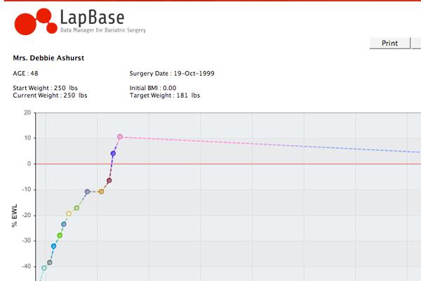 Lapbase reporting